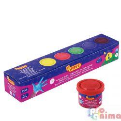 Бои за рисуване с пръсти Jovi 5 цвята