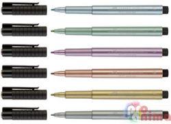 Тънкописец Faber-Castell PITT Artist Pen МЕТАЛИК