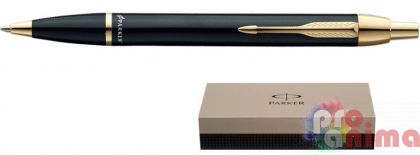Химикалка Parker IM Black, Gold Trim