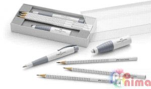 Комплект Faber-Castell WHITE EDITION