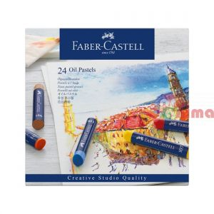 Маслени пастели Faber-Castell Creatives Studio Goldfaber 24 цвята