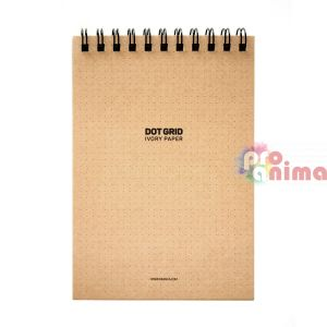 Скицник със спирала Dot Grid Sketch Pad A5 60 л на точки