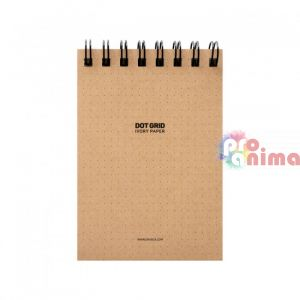 Скицник със спирала Dot Grid Sketch Pad A6 60 л на точки