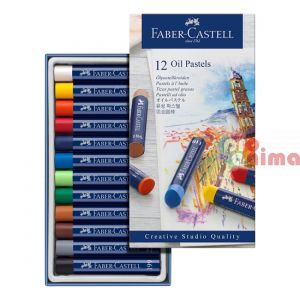 Маслени пастели Faber-Castell Creatives Studio Goldfaber 12 цвята